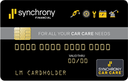 Synchrony Car Care Credit Card Discount Tire Battery In Crystal Mi